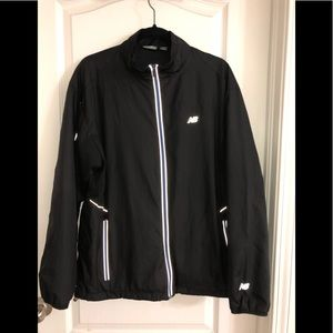 New balance black zip up jacket